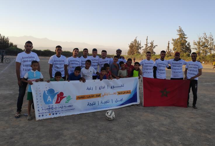 Das Team und unsere Partner vor Ort in Marokko